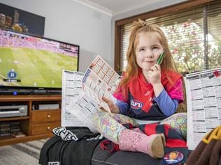 Four year old footy tipping star