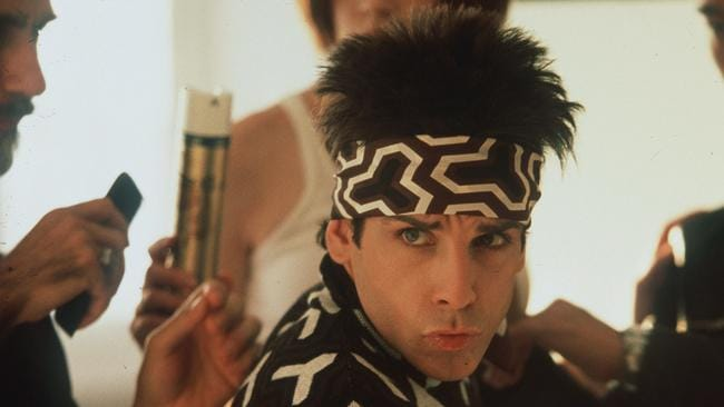 Actor Ben Stiller in a scene from Zoolander.