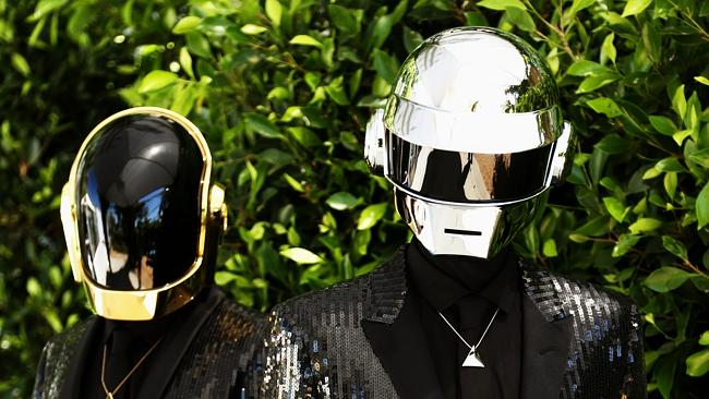 Top of the charts ... Daft Punk helped spearhead a vinyl revival in Australia last year. Picture: Matt Sayles/Invision