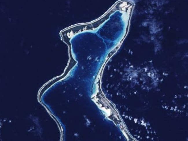 Diego Garcia. Picture: NASA.