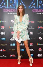 Ksenija Lukich arrives for the 31st Annual ARIA Awards 2017 at The Star on November 28, 2017 in Sydney, Australia. Picture: Lisa Maree Williams/Getty Images for ARIA