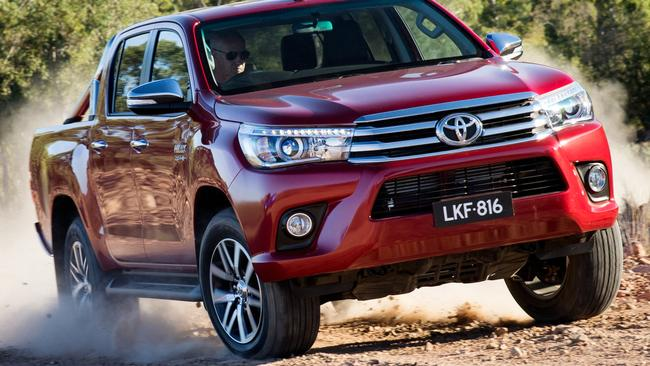 Toyota Hilux And Ford Ranger Set New Sales Record