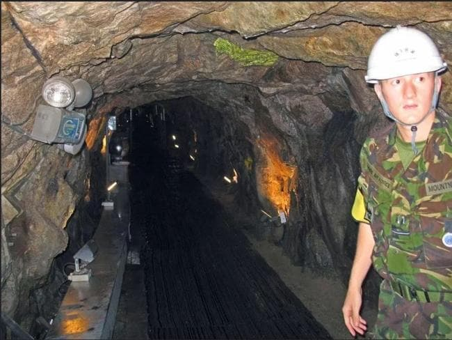 North Korea tunnels that have been created. Picture: Supplied