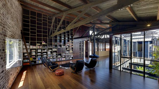 Best Residential Interior — Lilyfield Warehouse by Virginia Kerridge Architects. Picture: Supplied Intergrain Timber Vision Awards.