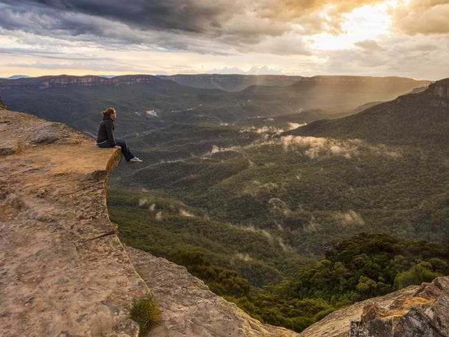 It's not all about beaches on the Gold Coast. Nature lovers can get away from the tourist strip and spend time in the Gold Coast Hinterland. Picture: AAP / Destination Gold Coast.