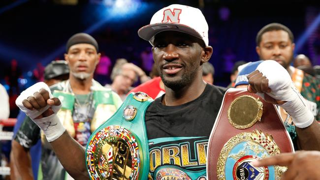 US champ Terence Crawford. Picture: STEVE MARCUS/GETTY IMAGES
