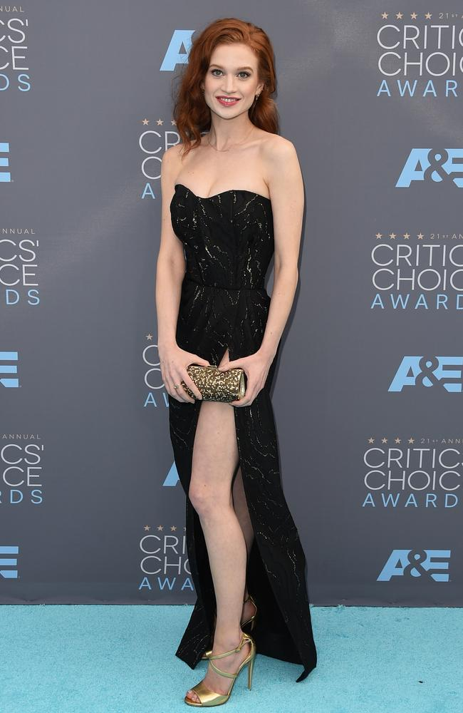Sarah Hay attends the 21st Annual Critics' Choice Awards on January 17, 2016 in California. Picture: Getty