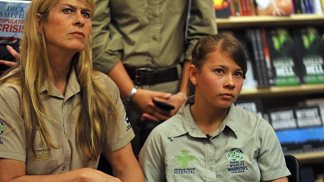 Terri Irwin is supporting her daughter Bindi's views on population growth.