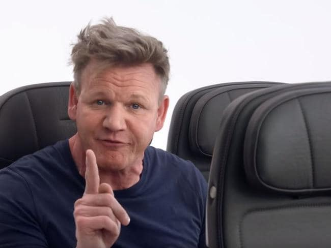 Gordon Ramsay is on his best behaviour, until he realises his lines were written for someone else.