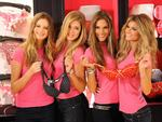 <p>Behati Prinsloo and Victoria's Secret models Doutzen Kroes , Alessandra Ambrosio and Marisa Miller pose November 17, 2009 at the new Victoria's Secret store in the SoHo section of New York. AFP</p>