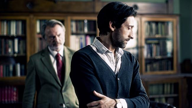Crazy ... When Adrien Brody sees dead people in Backtrack, Sam Neill tries to convince him it's all in his head. (Madman)