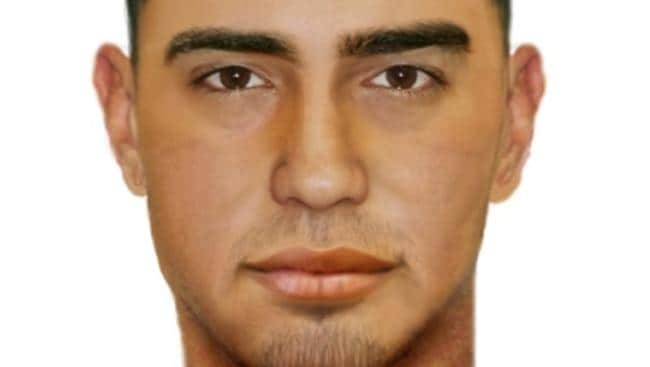 Digital composite of man involved in Coolaroo shooting in May. Picture: Supplied