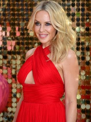 Minogue at the Ab Fab premiere recently. Picture: Getty