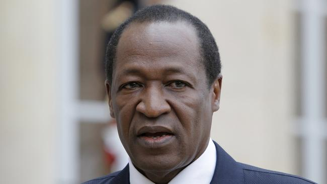 Burkina Faso's ex-president Blaise Compaoré ruled the country for 27 years until he was overthrown in a 2014 coup. Picture: AP /Francois Mori.