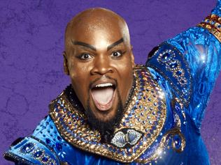 Aladin the Musical. Michael James Scott plays Genie in Disney's Aladdin