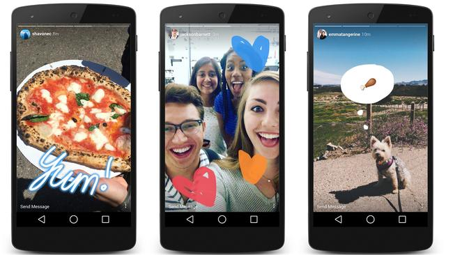 Instagram launches feature that clones popular Snapchat ...