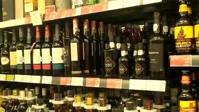 'Porting': students head to aisle selling bottles of posh port wine. Photo: #PortingDurham/YouTube