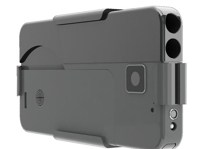 This iPhone is actually a gun