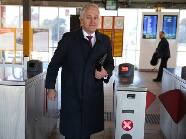 Malcolm Turnbull doesn't mind a train, but is he serious about building a really fast one?