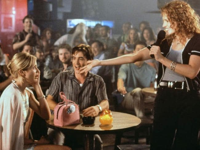 The 1997 movie featured plenty of singing, including a noteworthy karaoke scene from Cameron Diaz and Julia Roberts.