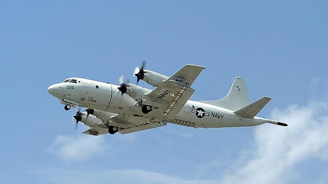 The Orion planes can search 54,000 square nautical miles a day.