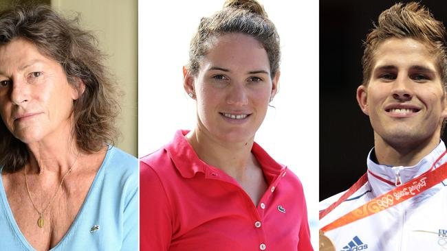 Champion sailor Florence Arthaud, Olympic swimmer Camille Muffat and boxer Alexis Vastine died in the crash. Picture: AFP/JACQUES DEMARTHON / JEAN-CHRISTOPHE MAGNENET / BERTRAND GUAY