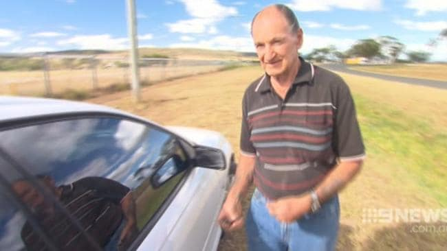 "Vincent O'Dempsey, pictured, and Gary ""Shorty"" Dubois were charged with the murders of the McCulkins but the case was later dropped. Pic: Nine News"