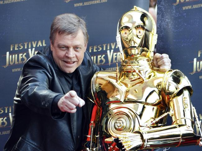 "Open-minded ... American actor Mark Hamill said fans should judge Luke Skywalker ""by his character"". Picture: Remy de la Mauviniere"