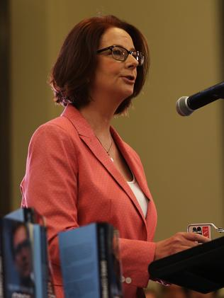Julia Gillard is the subject of two new TV projects. Picture: Phil Hillyard