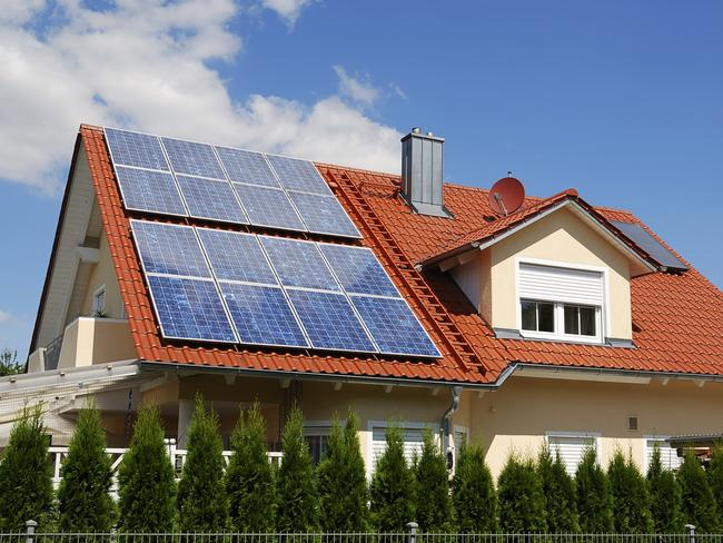 Increasingly people are turning to solar panels to combat rising electricity costs. Picture: Supplied.