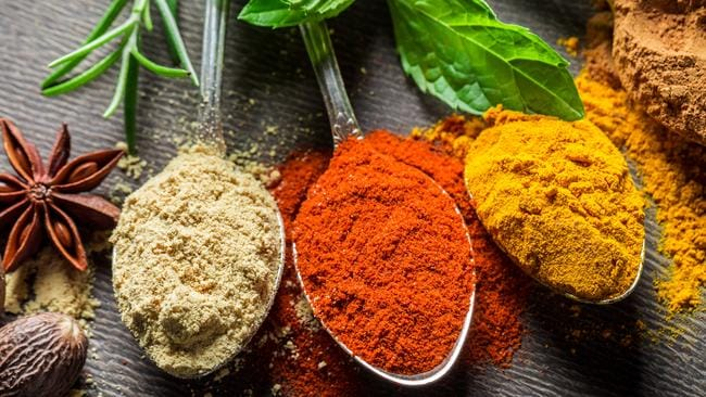 Rosemary, turmeric and licorice root are hypothesised to have anti-inflammatory benefits