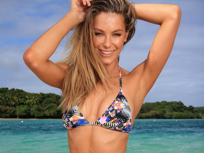Jennifer Hawkins models her swimwear label Cozi. Now, she's created ...