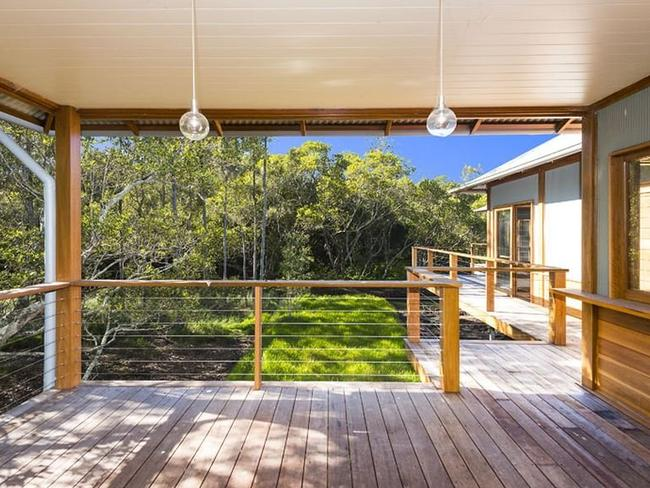 The four-bedroom pavilion at 24 Diggers Crescent is listed at $1.5 million.