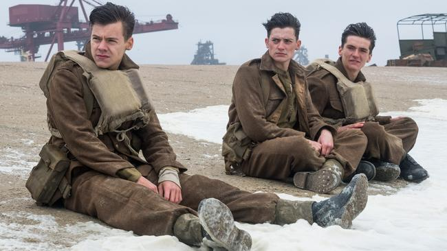 Christopher Nolan's 'Dunkirk' proved to be one of the night's big winners. It took home three awards.