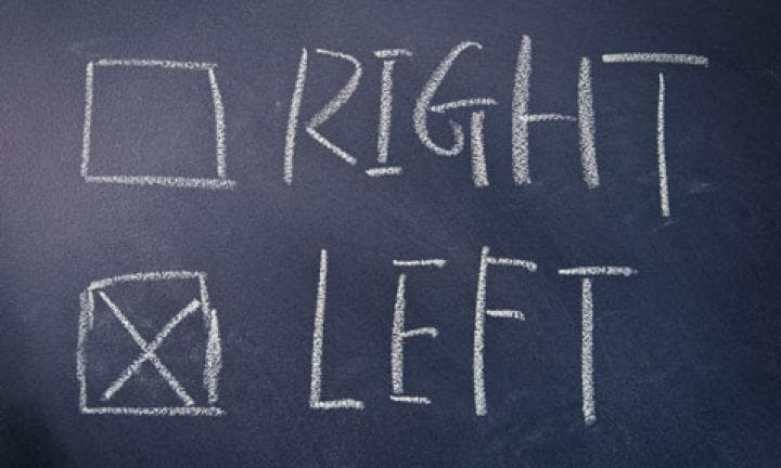 Best teaching practices for left vs right