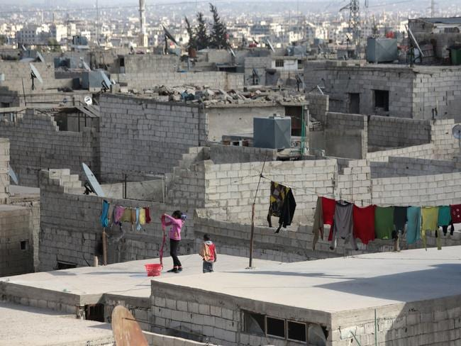 Syria comes in at number two on the list of the least happiest places to live. Picture: AFP / Abd Doumany