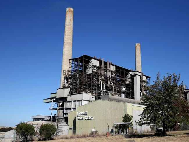 The Liddell Power Station in the Hunter Valley. Picture: Jane Dempster/The Australian