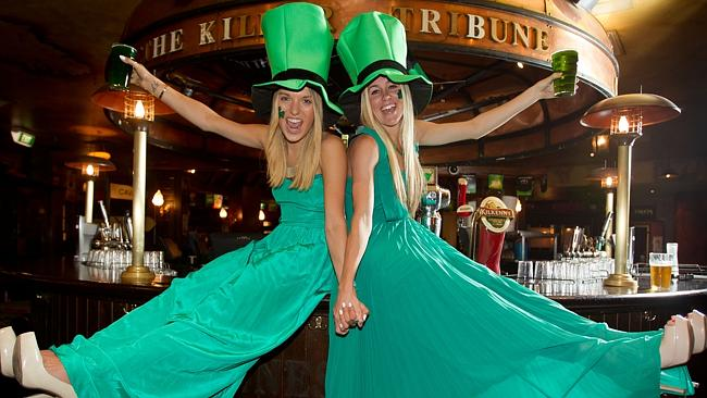 Head to PJ O'Brien's on Monday and have a drink with Gabi Kinnoo-Clark and Sarah Mollison, who are ready to party.