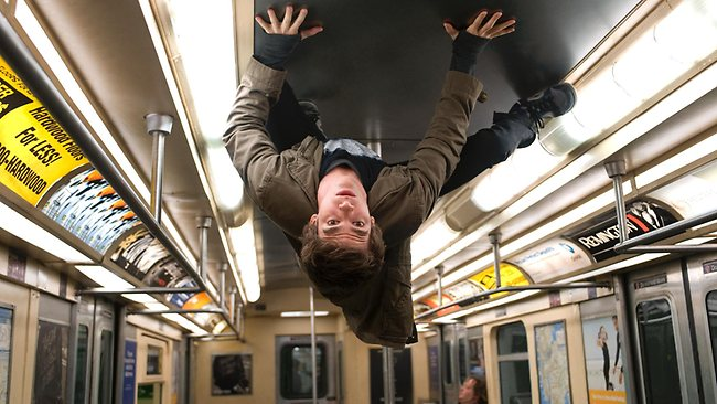 Nuanced: Andrew Garfield as Spider-Man.