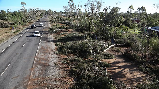 Bundalong damage