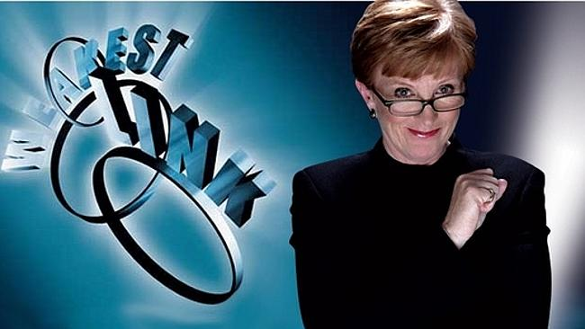 """""""You are the Weakest Link. G..."""