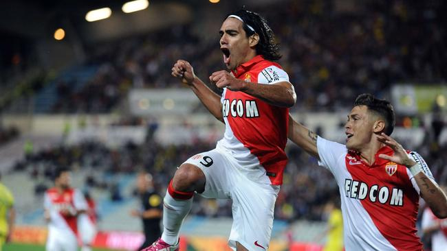 Monaco forward Radamel Falcao is heading to Old Trafford.