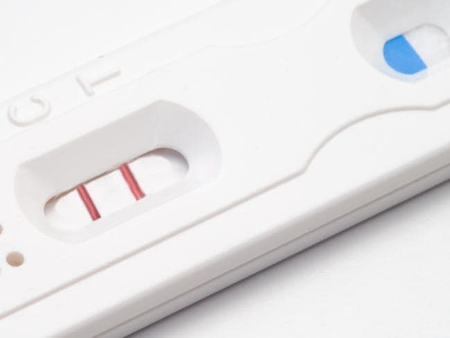 Staggering pregnancy test recall