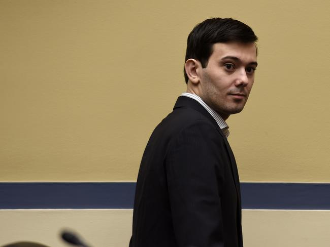 "Martin Shkreli ... ""Kanye and his label are legally required to take my offer letter to their Board of Directors. This should delay the album by a few days."" Picture: AP."