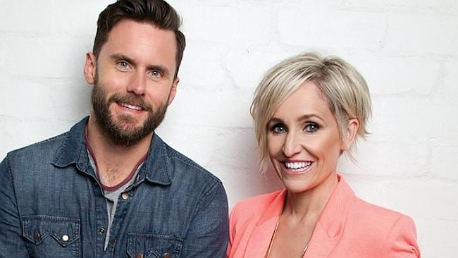 Melbourne's Funniest New Breakfast Show on The Fox with Fifi Box and Dave Thornton Picture: Supplied.