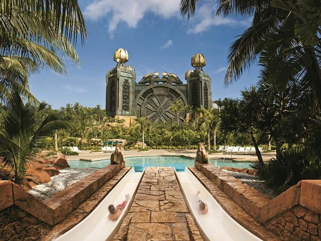 Fancy a Mayan temple water slide?