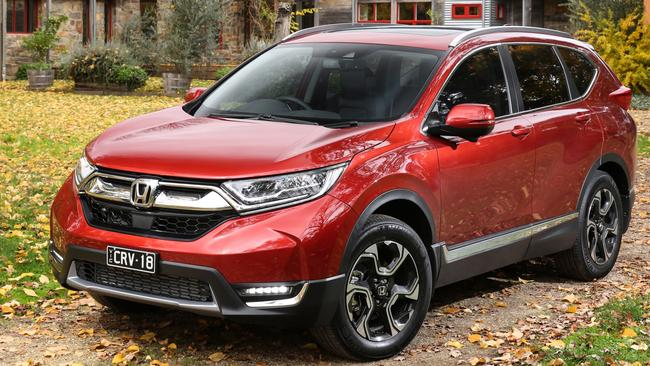 The Honda CR-V is a solid choice with a quality interior. Pic: Supplied.