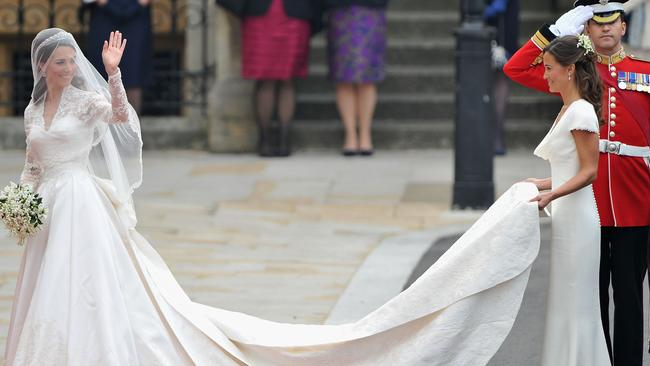 Pippa Middleton first caught the public's attention at her sister Kate's wedding.