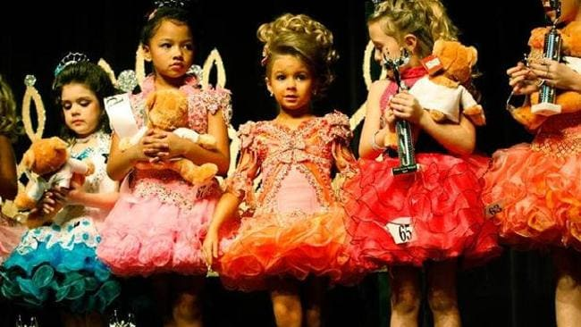 A scene from Toddlers and Tiaras on the Lifestyle Channel.
