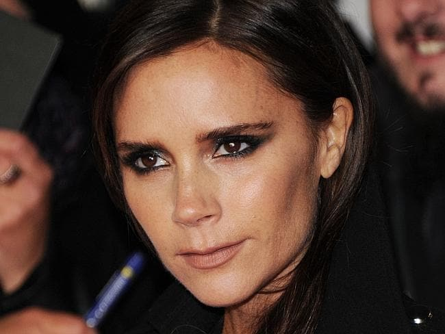 Does Victoria Beckham even crack a smile on her birthday? Photo by Stuart C. Wilson/Getty Images